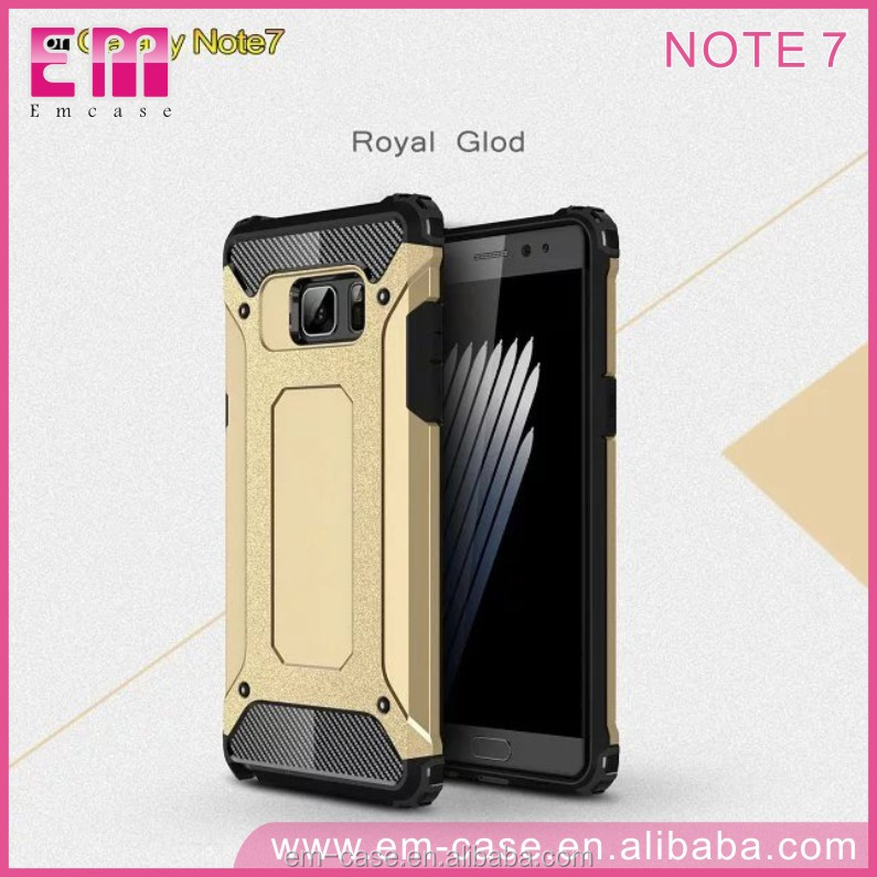 Top Selling Protective Functional Unbreakable Armor Back Phone Cover for Samsung Galaxy Note7