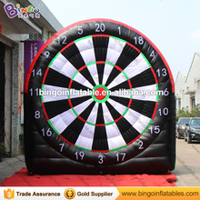 Hot sale 13ft. inflatable paste hook ball dart board for outdoor Interactive games