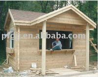 High Quality Wooden House, Wooden Cabin, Villa Made from Solid Wood Panel