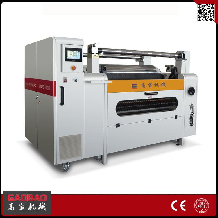 Gaobao New Invented Products 7.5KW 200 m/min Speed Fabric Slitting Machine