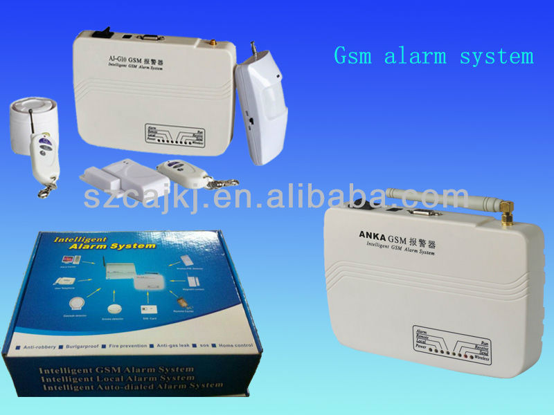 home security gsm sms wireless alarm system