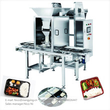 XYCFS5 Low price fast food machine cooked rice dispenser automatic divider machine filling equipment