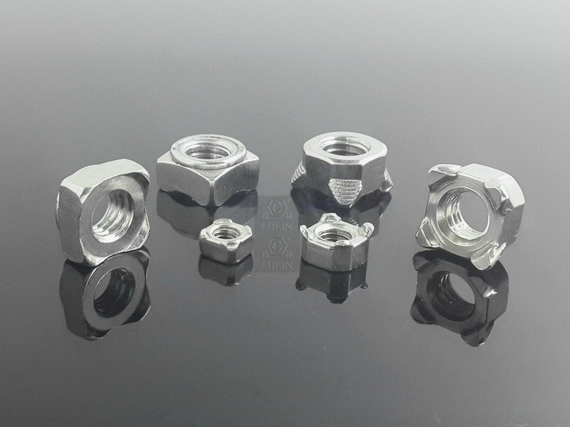 Stainless Steel Square Weld Nut / Weld Square Nut