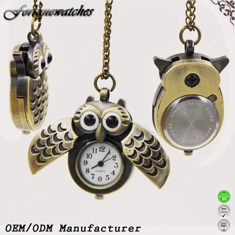 Wholesale Pocket Watch Kids & Girls Mini Pocket Watch OEM China