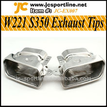 W221 S350 Exhaust Tips For Mercedes-Benz W221 S350