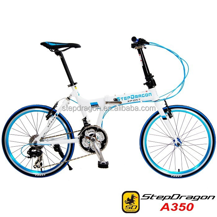 StepDragon Alloy Bike Frame Great Quality Bicycle parts A350 Taiwan Folding Bicycle