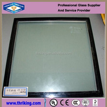Thermal insulated glass for window panes