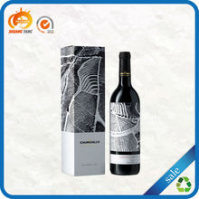 Customized professional reusable dimension of carton wine box