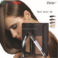 Natural non damage temporary hair makeup powder sets