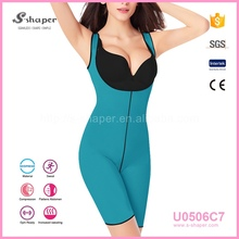 S-SHAPER Slimming Clothes Women'S Ultra Sweat Bodysuit U0506C7