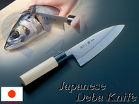 Arnest Japanes Cookware Ktchenware Cooking Tools Utensils Kitchen Knife Chef Stainless steel Fish Wood Handle Deba Knives 12833