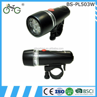 Plastic Front LED Light Bike for Cycling Light BS-PL503W