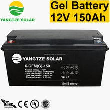 12v 150ah gel lead acid battery bank used in telecom
