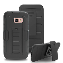 2017 combo case With kickstand Hybrid PC + TPU combo back cover Shockproof For galaxy A3 A5 A7 2017