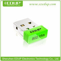EDUP Wireless USB Adapter150Mbps 802.11b/g/n Nano Wireless USB Adapter EP-N8508 USB WiFi Adapter
