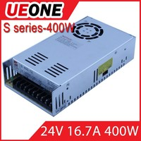 UEONE meanwell S-400-24 24Vdc output atx switching power supply 400w