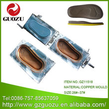 PU shoes soles mold making