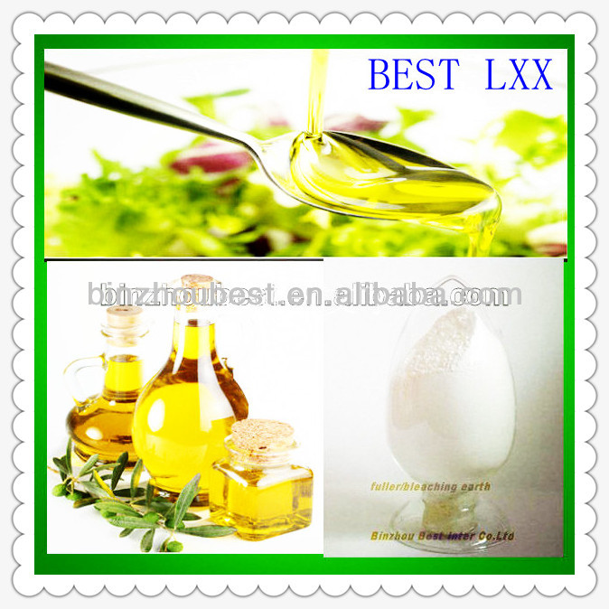 activated bleaching earth oil filter for used cooking oil regeneration