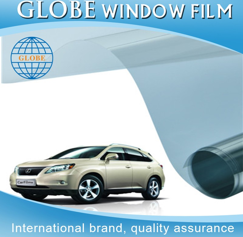 Automotive solar control auto window protector bf blue color car windshield windows film