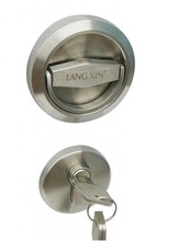 Door Locks Stainless Steel 304 Recessed Cup Handle Privacy Door Locks