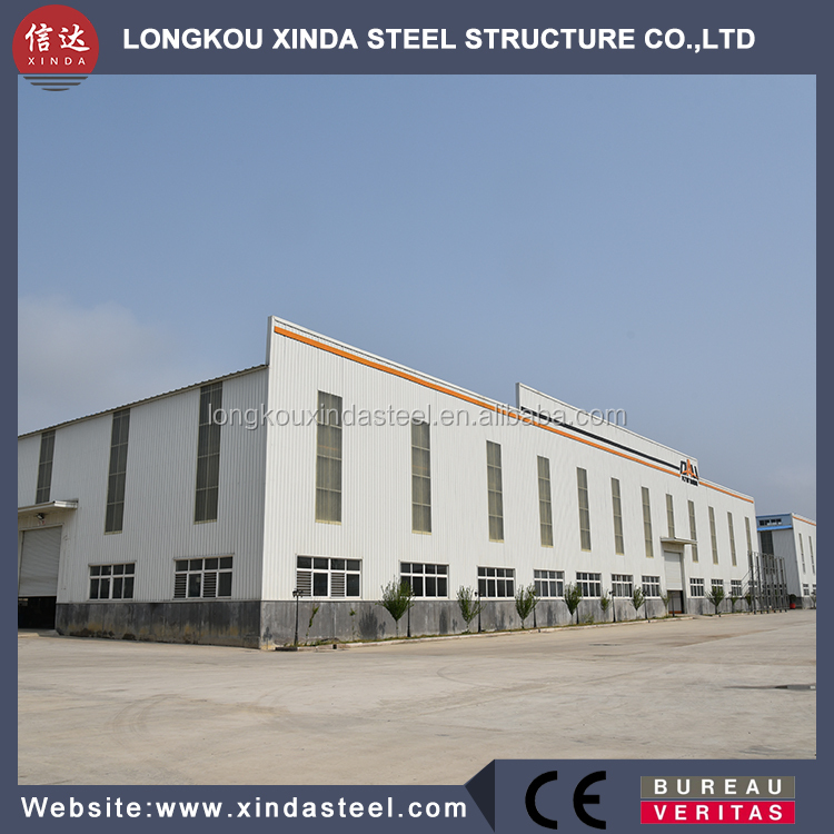 multi commercial steel structure two story building