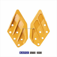 KATO HD700/850 excavator parts 6 hole alloy steel bucket side cutter