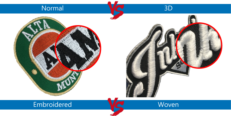 3D Customized your Brand Logo Embroidery Patches Motorbike for Leather jacket Embroidery Patches