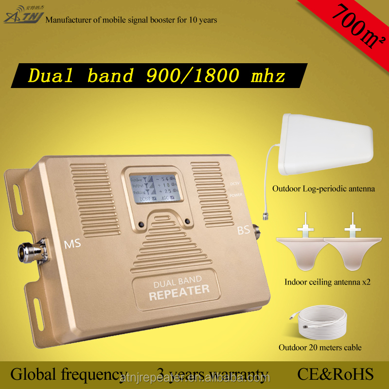 gsm 850/2100mhz dual band mobile phone signal 2G +3G+4Gbooster/Amplifier Repeater
