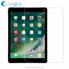 2017 Nuglas Ultra clear 0.33mm 2.5D 9H Anti-shock Tempered Glass Screen Protector for ipad pro 10.5