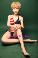 163cm Japanese real silicone sex doll with skeleton and artificial vagina lifelike sex doll for men real life like sex dolls