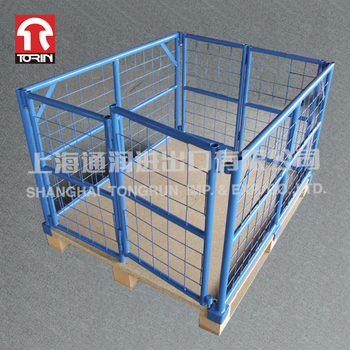 High Quality Stackable Rectangle Retention Cage From China Factory