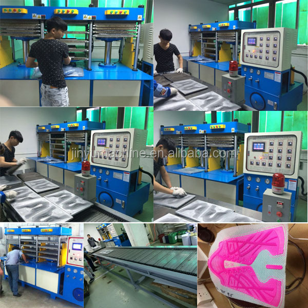 6 working stations KPU bag production line backpack making machine