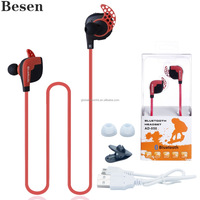 Handsfree Sport Wireless Headset Smart Stereo Different Colors in Retail box