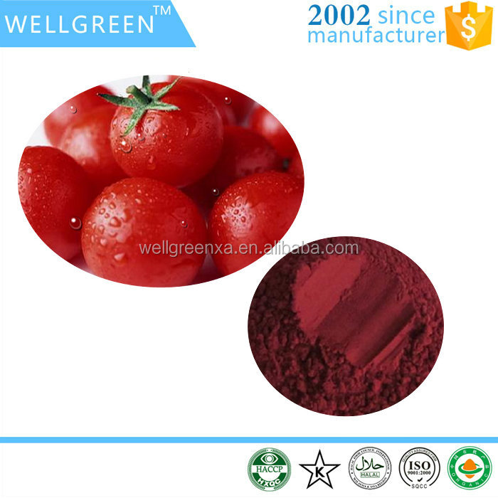 Food colorant Tomato extract Lycopene 5% 10%
