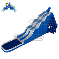 Water Splash Giant Inflatable Water Slide