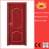 SC-W046 wholesale China market luxury italian wooden doors,fireproof wood door