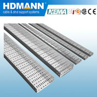 Construction material Specializing in energy saving perforated cable tray horizontal bend factory in china