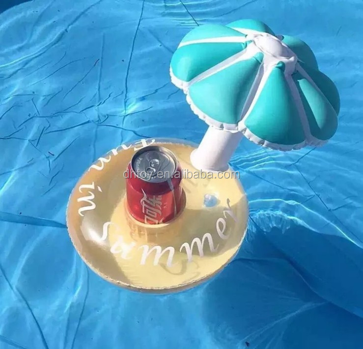 Inflatable folding Beer Can Holder