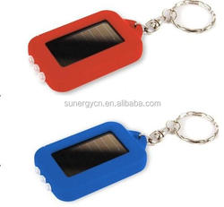 3.6v/40maH Ni-MH battery sola panel 4.5v 5Ma pocket solar keychain light