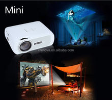 Crenova LED video projector home theater projector with Free HDMI Support 1080P