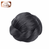 Bolin Hair Factory price large stock fast shipping hair bun cover/hair bun synthetic hair wig/human hair bun