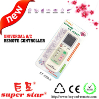 universal programmable air conditioner remote control