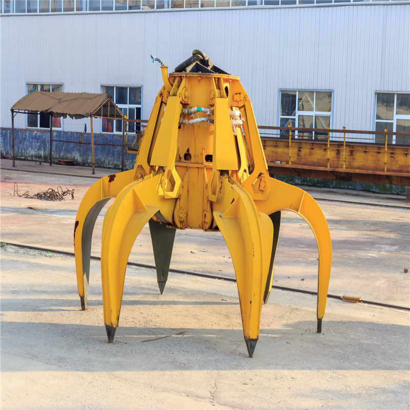 HOT SALE Electro-Hydraulic Grab for Port Crane, Overhead Crane and Gantry Crane