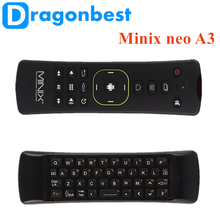 Minix neo A3 Wireless air mouse arabic iptv box 2.4g wireless ott AIR MOUSE with great price Keyboard Voice