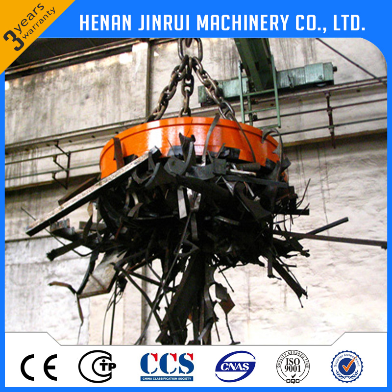 China 1000kg Steel Bar Electric Lifting Magnet Electro Magnetic Chuck Lifter Price