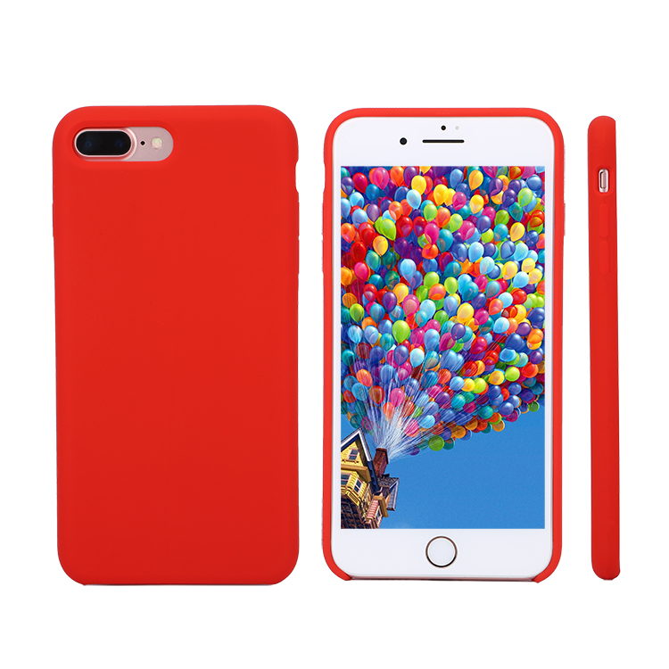 Silicone case factory !!! OEM and ODM available custom colorful Silicone mobile phone case for iphone8 samsung and vivo