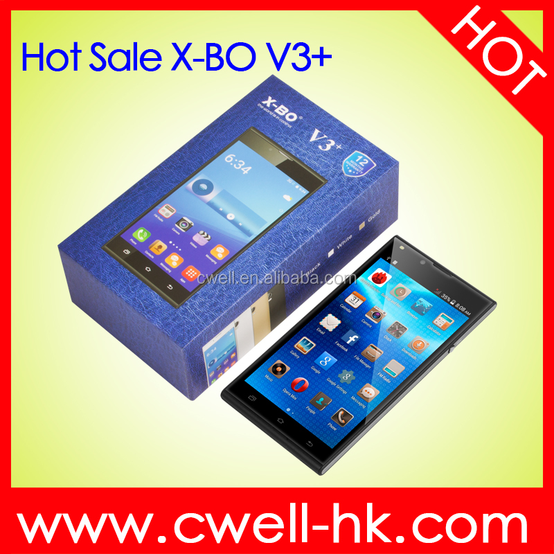 X-BO V3+ 4.7 inch Hot Sale Good Quality Low Price Android Mobile Phone with wifi GPS function
