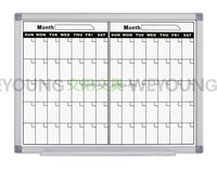 PB-88 Printing magnetic agenda board for planning