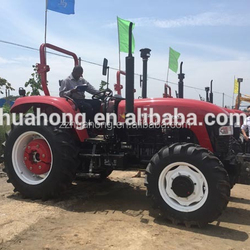 Advatage of the four-wheel farm tractor,high efficiency farm tractor