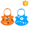 New Product On Amazon 100% Silicone Bib With Baby Bandana Drool Bibs